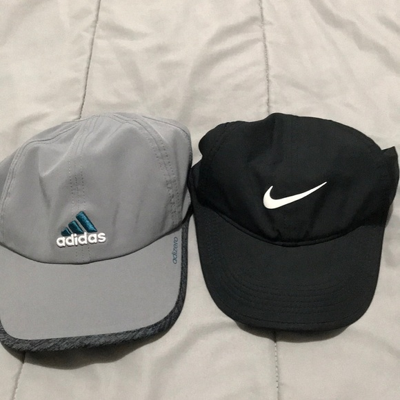 Nike and Adidas workout hats. M 5b209bf7409c155a736650d2 fcb77d6d1be